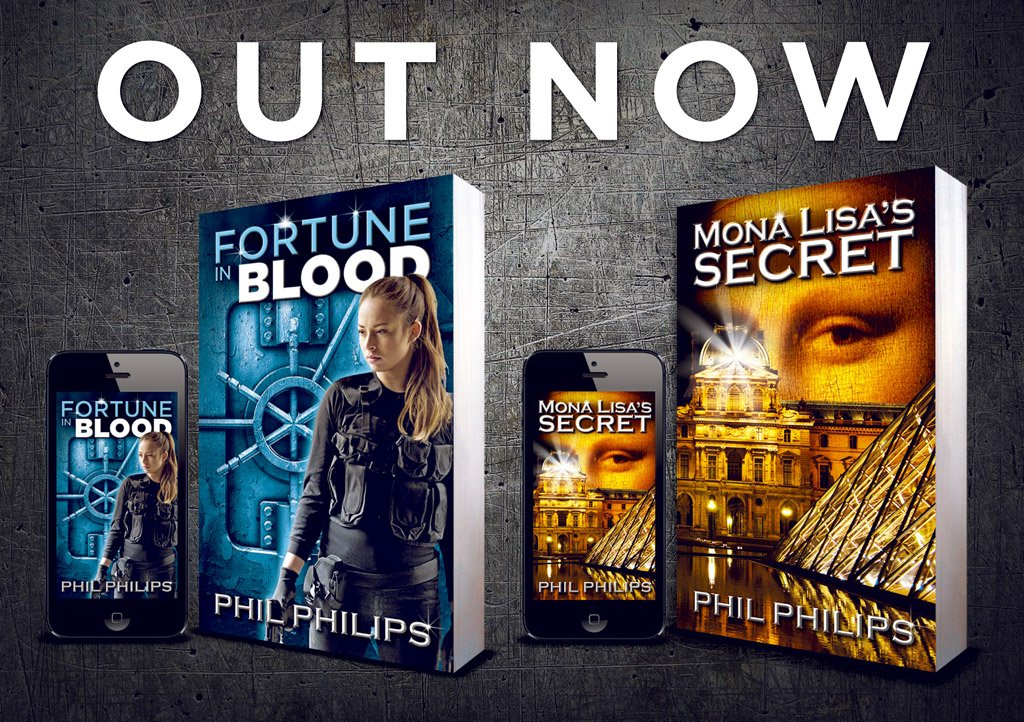 Phil Philips Novels Out Now