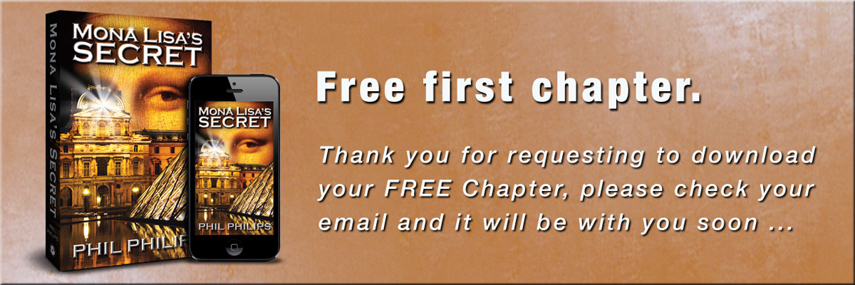 Thank you for download the free first chapter of Mona Lisa's Secret