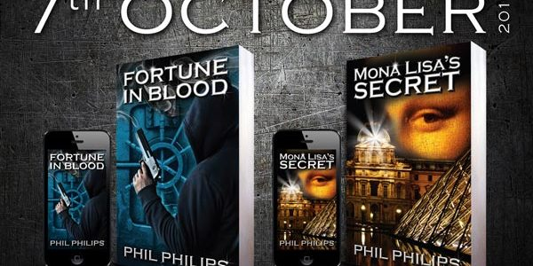 Worldwide Book Release For Thriller Author Phil Philips – 7 October 2016