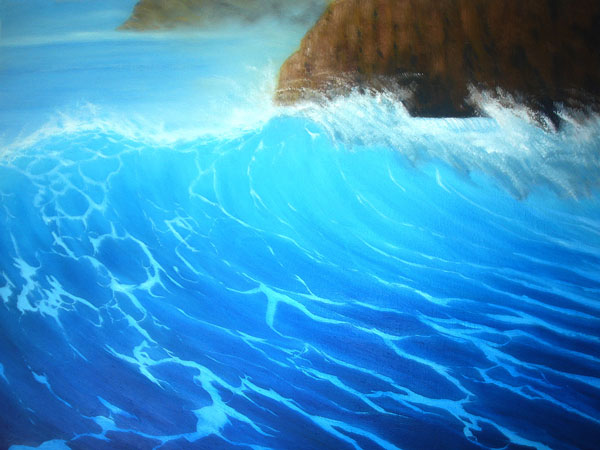 Phil Philips the Wave painting