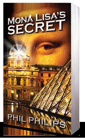 Phil Philips Mona Lisa's Secret Paperback Book