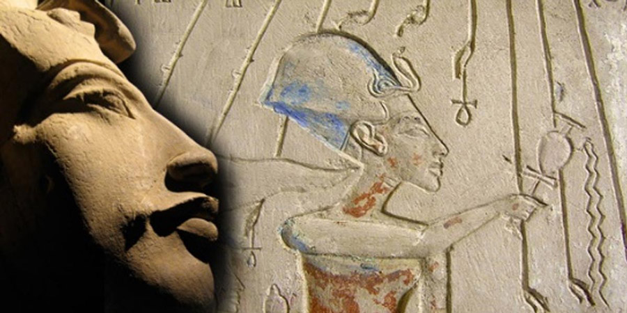 Pharaoh Akhenaten Tut's Father