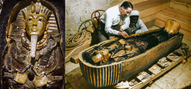 Rare tomb found of Tutankhamun