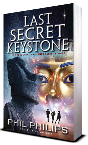 Last Secret Keystone 3d book cover
