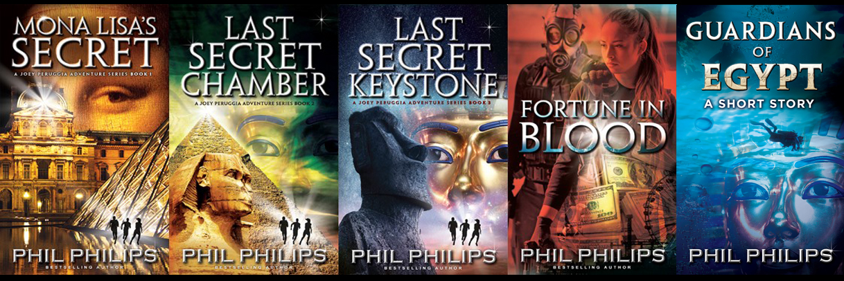 Phil Philips all four novels